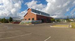 Verde Valley Senior Citizens Center- Cottonwood Arizona Stock Footage
