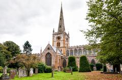 Holy Trinity Church in Stratford-Upon-Avon Stock Photos