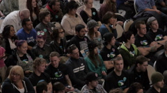 Drug Addiction Rally Footage Stock Footage
