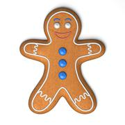 Gingerbread man - stock illustration