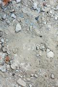 Stock Photo of Pile of construction rubble