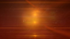 Orange liquid light abstract motion background Stock Footage