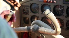 Aircraft Interments and Pilot Stock Footage