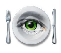 food health inspection - stock illustration