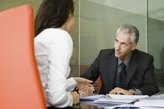 Executives in meeting Stock Photos