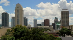 Orlando FL City skyline Shot Four - stock footage