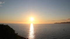 Sunset in sardinia Stock Footage