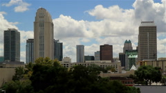 Orlando Fl Skyline Time lapse Four Stock Footage