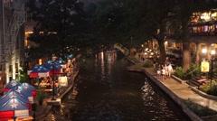 The San Antonio Riverwalk Arkistovideo