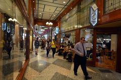 Brisbane arcade in brisbane queensland australia Kuvituskuvat