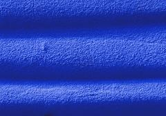 Stock Photo of Blue rippled surface, close-up, full frame