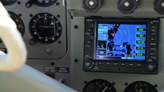 Aircraft Navigation Stock Footage