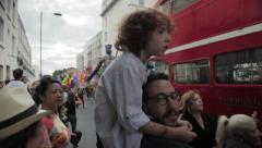 Notting Hill Carnival Stock Footage