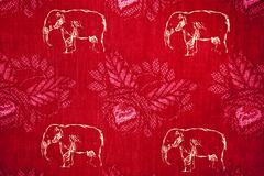Red cotton Stock Photos