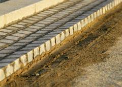 Stock Photo of Freshly laid paving stones