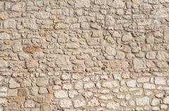 Stone masonry house wall Stock Photos