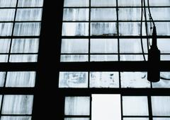Window panes - stock photo