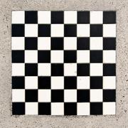 marble chessboard - stock photo