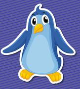 Penguin - stock illustration