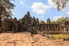 Angkor thom - stock photo