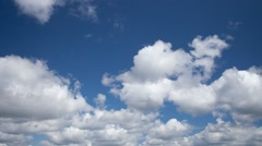 Cumulus Clouds time lapse.mp4 Stock Footage