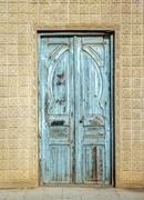 A door for tunisia Stock Photos