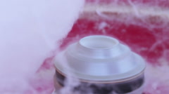 Candyfloss swet Stock Footage
