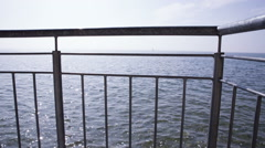 Lake view at the Bodensee in germany Stock Footage