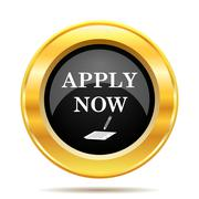 Stock Illustration of apply now icon