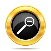 Zoom out icon Stock Illustration