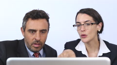 Corporate people meeting - stock footage