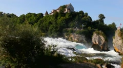 Rhine waterfall 5 Stock Footage