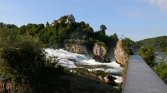 Rhine waterfall 4 Stock Footage