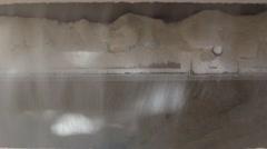 Wheat flour milling machine Stock Footage