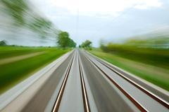 Rails blur Stock Photos