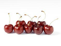 Stock Photo of Fresh cherries, close-up