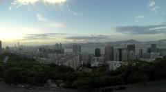Hong Kong North Point City View Stock Footage