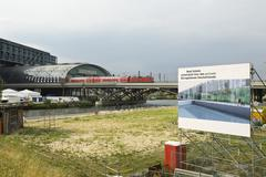 Germany, Berlin, Berlin Hauptbahnhof (Berlin's main railway station) Stock Photos