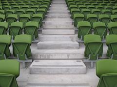 Stock Photo of Stadium seating