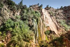 Imouzzer waterfall near agadir, morocco Stock Photos