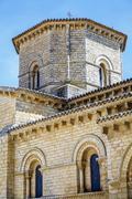 Romanesque style in fromista, palencia Stock Photos