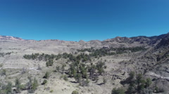 American west desert landscape Stock Footage