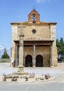 Stock Photo of berlanga de duero chapel of our lady of solitude
