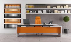 Contemporary office Stock Illustration