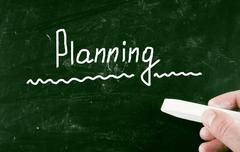 Planning concept Stock Photos