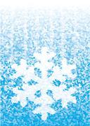 Snowflake - stock illustration