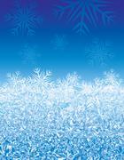 Ice background - stock illustration
