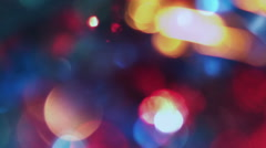 Colorful Bokeh - stock footage