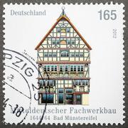 bad munstereifel, germany circa 2012 - stock photo