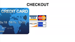 Flight Payment Credit Card Scan and Checkout Stock Footage